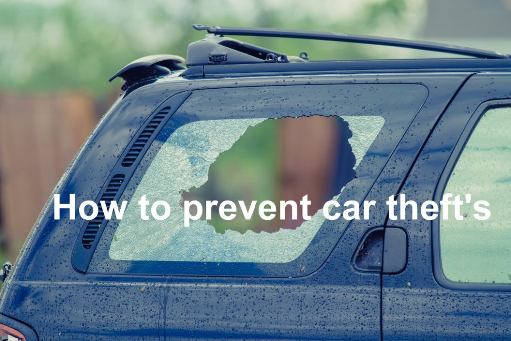 Prevent car theft with film