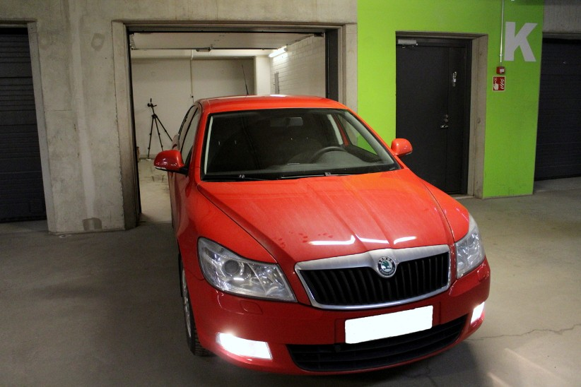 skoda octavia window tint