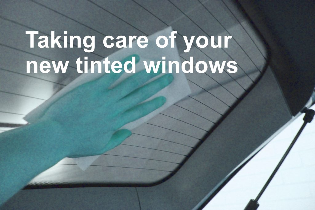 Taking care of your new window film