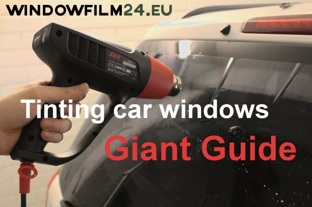 How to window tint your car